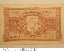 Image #2 of 5 Lire 1944 (23. XI.)