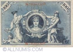 Image #1 of 100 Mark 1908 (7. II.) - A