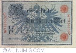 Image #2 of 100 Mark 1908 (7. II.) - A