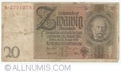 Image #1 of 20 Reichsmark 1929 (22. l.) - E
