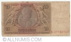 Image #2 of 20 Reichsmark 1929 (22. l.) - E