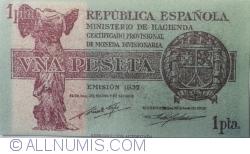 1 Peseta 1937 - Replica