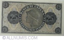25 Pesetas 1936 (21. XI.) - Replica