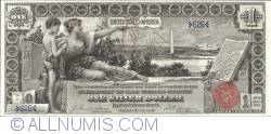 1 Dollar 1896 - Educational Silver Certificate