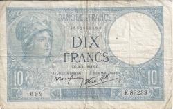 Image #1 of 10 Francs 1941 (9. I.)