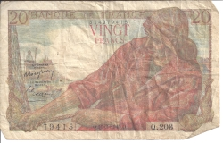 Image #1 of 20 Francs 1949 (10. III.)