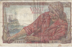 Image #1 of 20 Francs 1942 (24. IX.)
