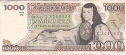 Image #1 of 1000 Pesos 1984 (7. VIII.) - Serie VC