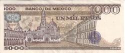 Image #2 of 1000 Pesos 1984 (7. VIII.) - Serie VC