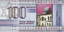 100 (Simtas) Salomu 2002 (2. II.)