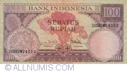 Image #1 of 100 Rupiah 1959 (1. I.)