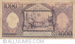 1000 Rupiah 1958