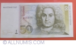 50 Deutsche Mark 1989 (2. I.)