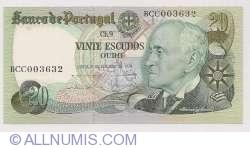 Image #1 of 20 Escudos Ouro 1978 (4. X.) - Signatures Emílio Rui da Veiga Peixoto Vilar/ Luís Carlos de Assunção Braz Teixeira