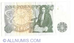 Image #2 of 1 Pound ND (1978-1980)