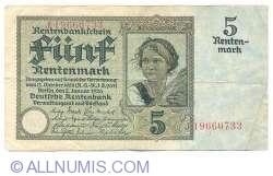 Image #1 of 5 Rentenmark 1926 (2. I.)