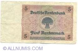 Image #2 of 5 Rentenmark 1926 (2. I.)