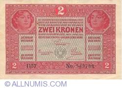 2 Kronen 1917 (1. III.)
