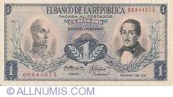 Imaginea #1 a 1 Peso Oro 1974 (7. VIII.)