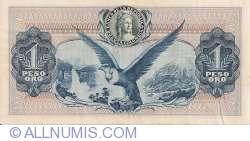 Image #2 of 1 Peso Oro 1974 (7. VIII.)