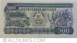 Image #1 of 500 Meticais 1986 (16. VI.)