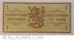 1 Markka 1963 - semnături Koivisto / Voutilainen