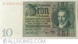 Image #1 of 10 Reichsmark 1929 (22. I.) - F