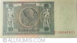 Image #2 of 10 Reichsmark 1929 (22. I.) - F