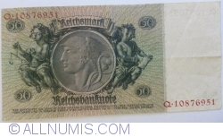 Image #2 of 50 Reichsmark 1933 (30. III.) - F (8 digit serial)