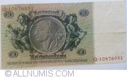 50 Reichsmark 1933 (30. III.) - F (serie cu 8 cifre)