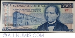 Image #1 of 50 Pesos 1978 (5. VII.) - Serie FM