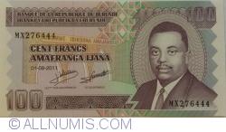 100 Francs 2011 (1. IX.)