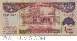 Imaginea #1 a 1000 Shillings 2012