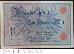 Image #1 of 100 Mark 1908 (7. II.) - D