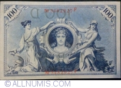 Image #2 of 100 Mark 1908 (7. II.) - D