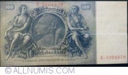 Image #2 of 100 Reichsmark 1935 (24. VI.) - U