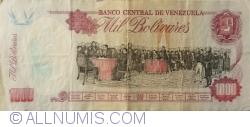 Imaginea #2 a 1000 Bolivares 1995 (5. VI.)