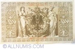 Image #2 of 1000 Mark 1910 (21. IV.) - L