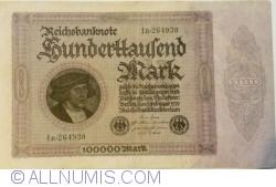 Image #1 of 100 000 Mark 1923 (1. II.) - 2