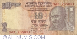 Image #1 of 10 Rupees 2011 - R