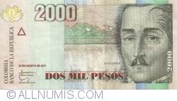 Image #1 of 2000 Pesos 2011 (23. VIII.)