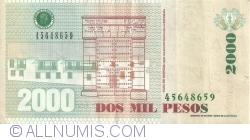 Image #2 of 2000 Pesos 2011 (23. VIII.)