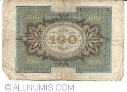 Imaginea #2 a 100 Mark 1920 (1. XI.) - R