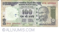 Image #1 of 100 Rupees 2012 - F