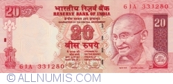 Image #1 of 20 Rupees 2008