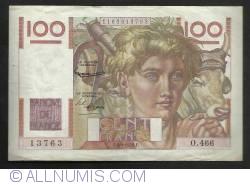 Image #1 of 100 Francs 1952 (4. IX.)