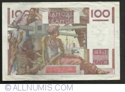 Image #2 of 100 Francs 1952 (4. IX.)