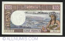 Imaginea #1 a 100 Franci ND (1970)