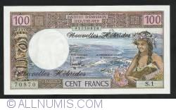 Imaginea #1 a 100 Franci ND (1977)