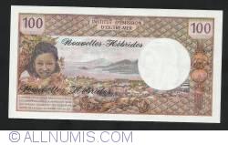 100 Francs ND (1977)
